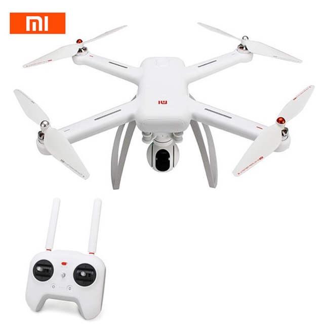 Flycam Xiaomi Mi Drone WIFI FPV Với 4 K 30fps & 1080P, Gimbal 3 Trục Trống Rung Tuyệt Tối, Tầm Xa 3KM, Bay 27 Phút, Truyền Ảnh 1KM