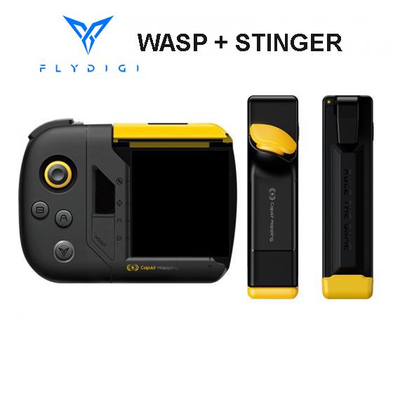 Combo Tay Cầm Flydigi WASP & Nút Bắn Flydigi Stinger