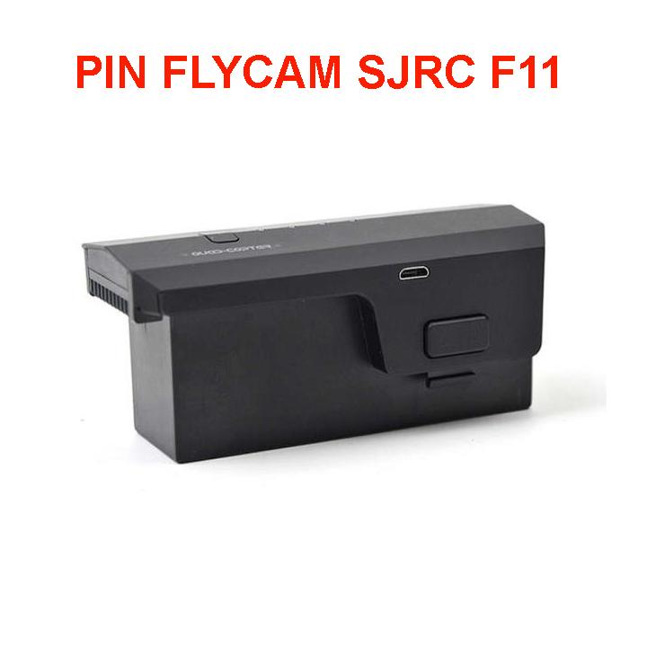 Pin máy bay flycam SJRC F11, 11.1V 2500mAh Chính Hãng