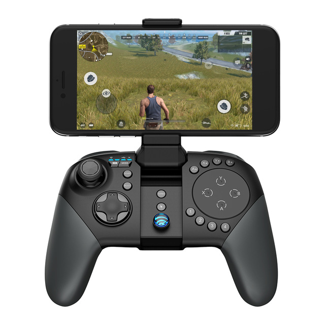 Tay Cầm Chơi Game Bluetooth Gamesir G5 Chơi Rules of Survival PUBG MOBA Trackpad Touchpad Cho Android, iPhone, PC