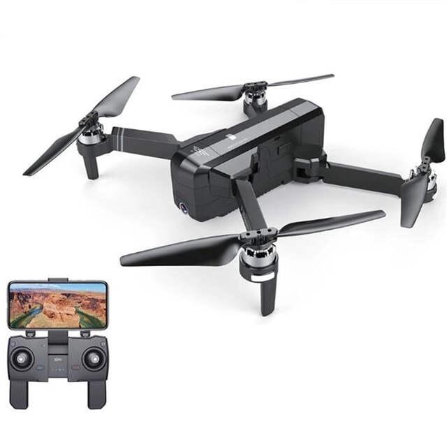 Máy Bay Flycam SJRC F11. Động Cơ Không Chổi Than. Camera 5G 1080P. Bay 25 Phút. Khoảng Cách Bay 1200m FPV 500m