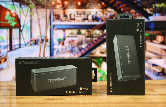Loa Tronsmart Element Mega Bluetooth 5.0 Loa di động 40W Colums Touch Control Soundbar hỗ trợ Trợ lý giọng nói, NFC, TWS, MicroSD