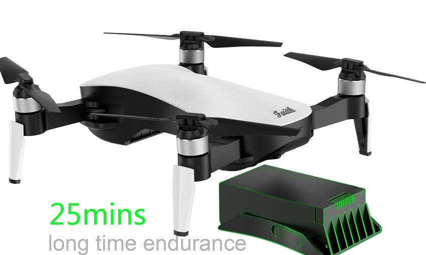Flycam C - Fly Paith Gimbal 3 Trục, Gấp Gọn Tầm Xa 2Km Thời gian bay 25 Phút