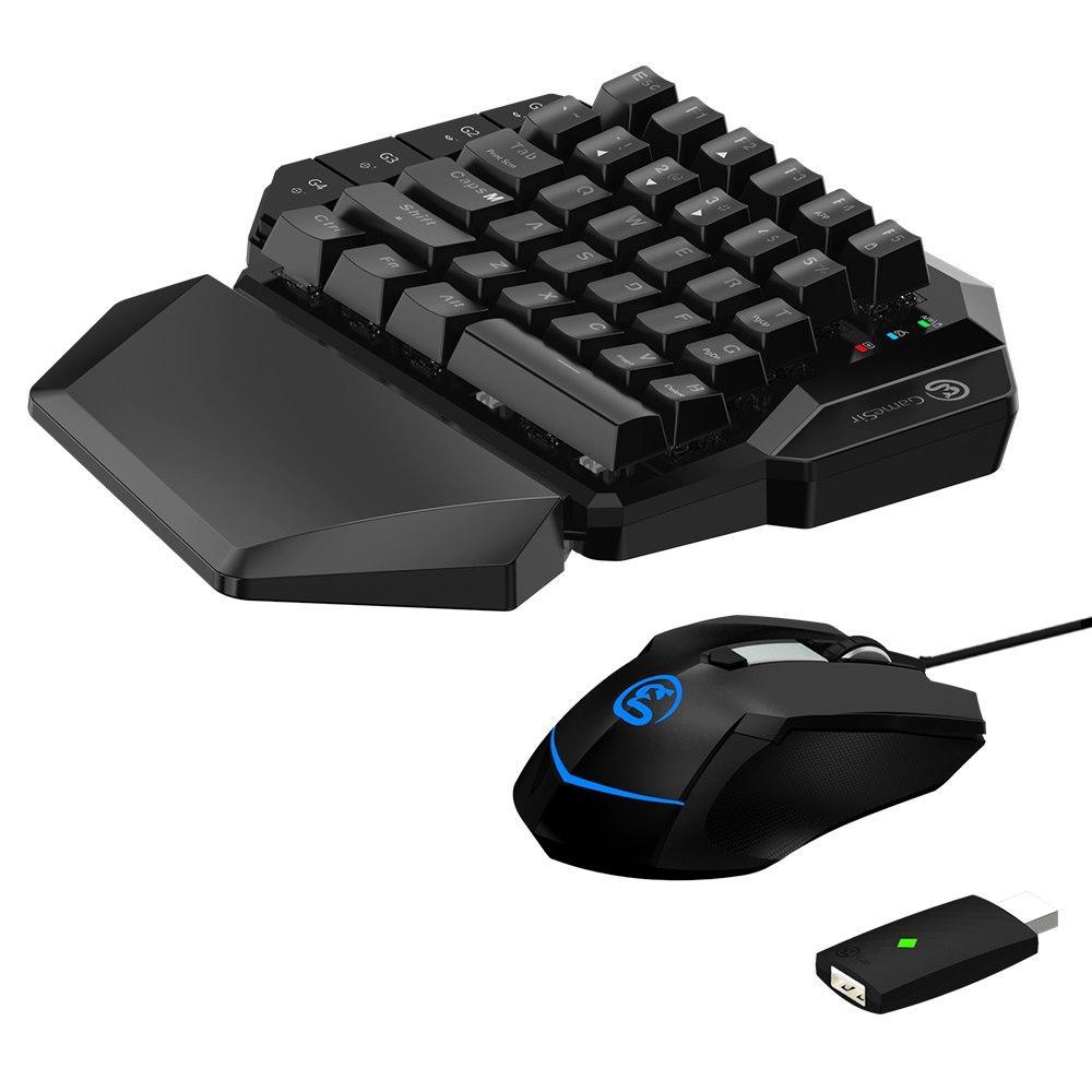 Bàn phím một tay GameSir VX AimSwitch chơi PUBG cùng game FPS cho PS4, Xbox one và Nintendo switch