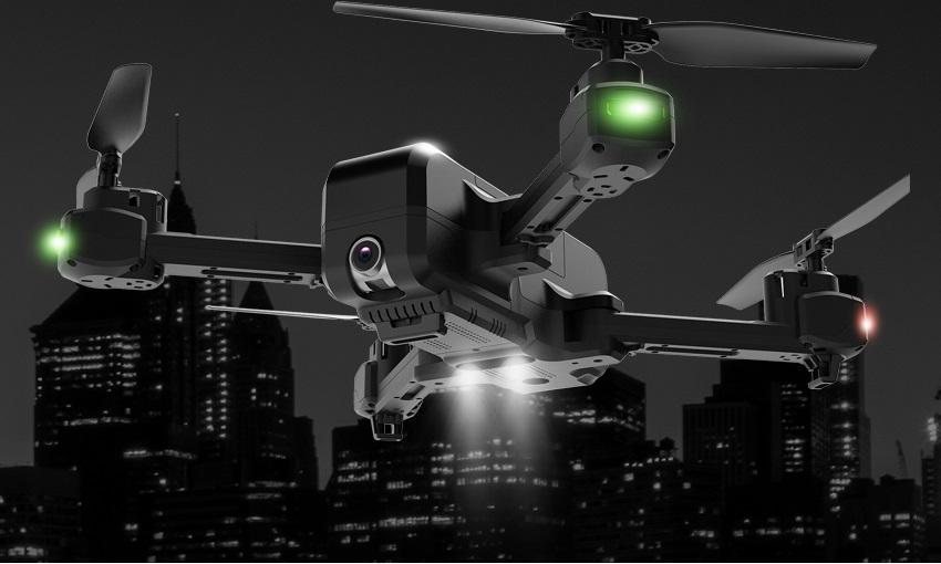 Flycam MJX X103W - Có GPS - Cánh Gấp Camera 2K - Chống Rung Quang Học Bay 15 Phút